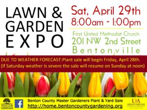 Lawn and Garden EXPO @ First United Methodist Church